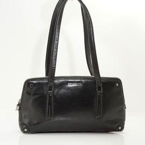 Auth Gucci Leather Vintage Handbag #810G44